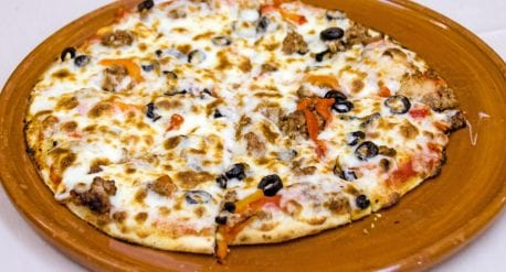 pizza de carne picada Ubi de la vega