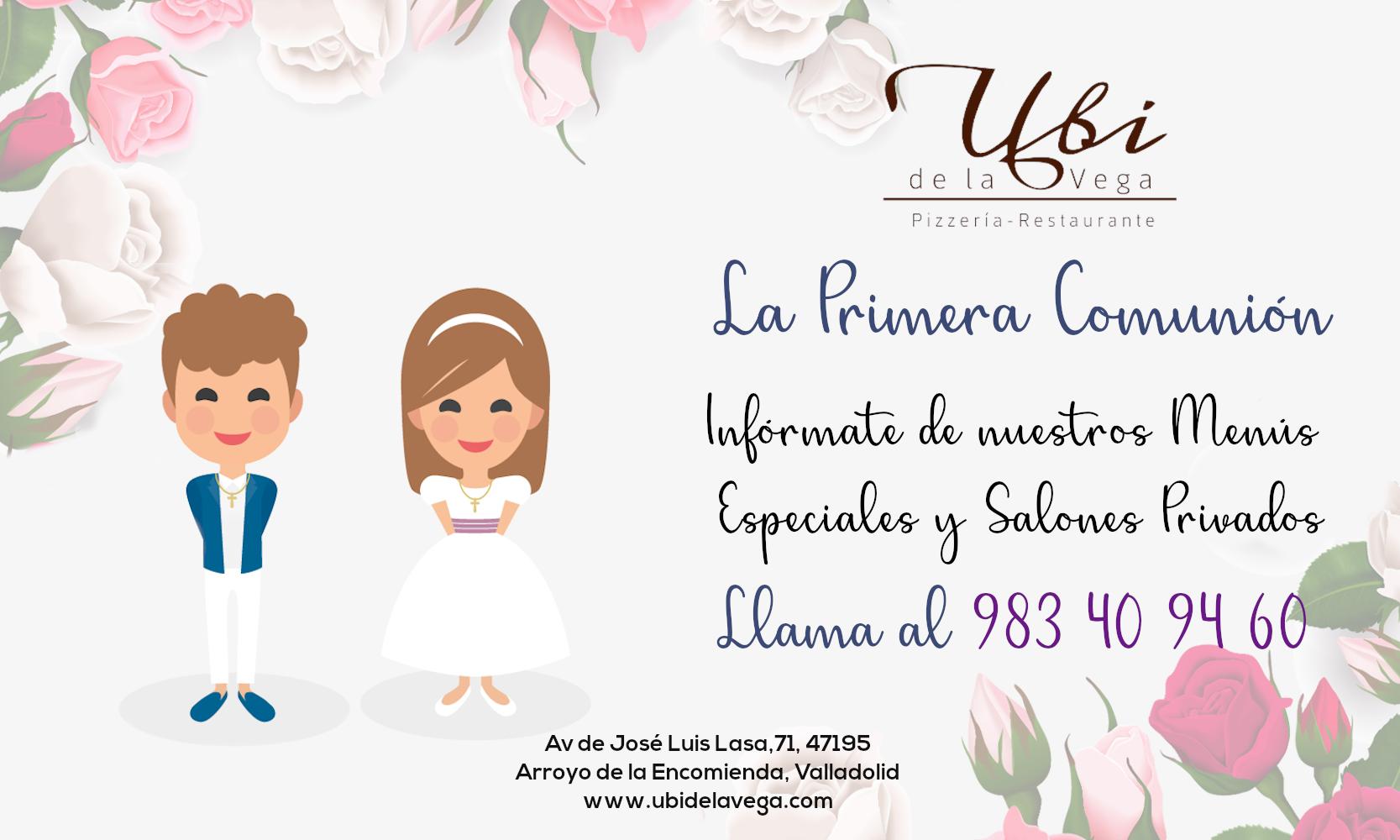 Celebra con el UBI de la Vega la Primera Comunión